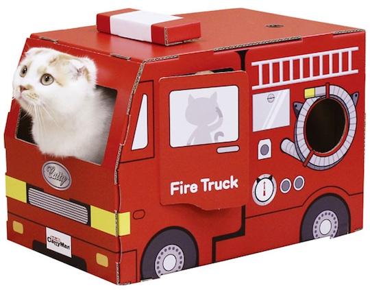 Cat Fire Truck