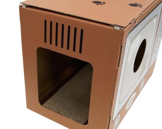 Cat Television Scratch Box