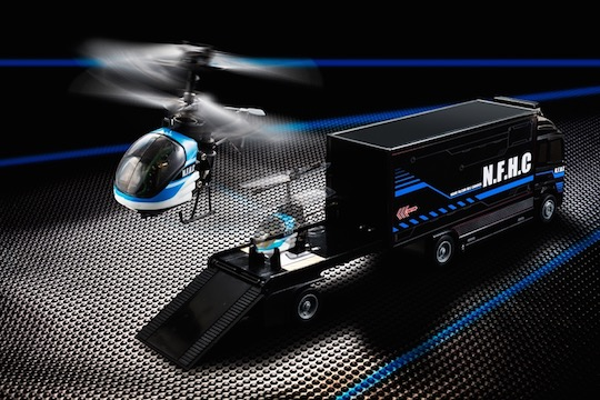 Nano Falcon Heli Carrier Helicopter Truck RC Toy