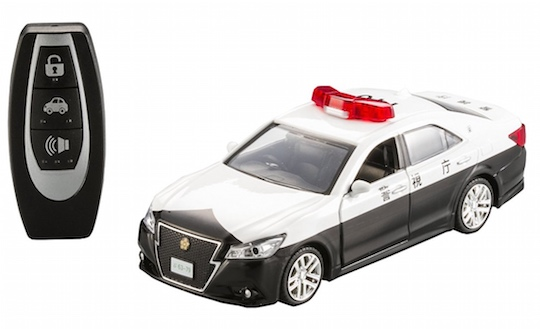 Toyota Crown Japanese Police Patrol Car Pullback Toy