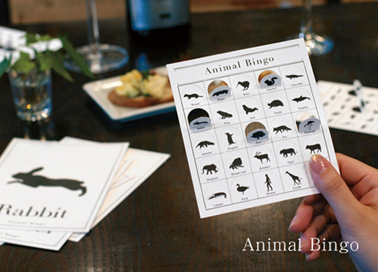 Animal Bingo by Cement Design