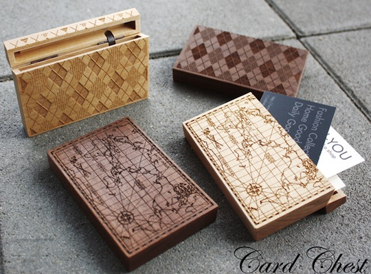 Japan trend shop cement design old world map card chest cement design old world map card chest designer wooden business card holder colourmoves