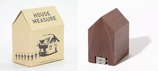 Japan Trend Shop | House Measure Designer Tape Measure