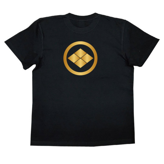 Takeda Clan Four Diamonds Bishi Crest T-shirt