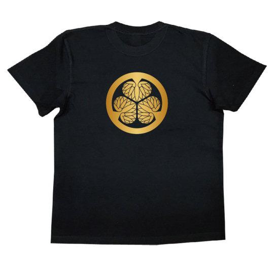 Tokugawa Mitsu Aoi Crest T-shirt