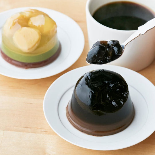 Japanese Sweets and Coffee Set