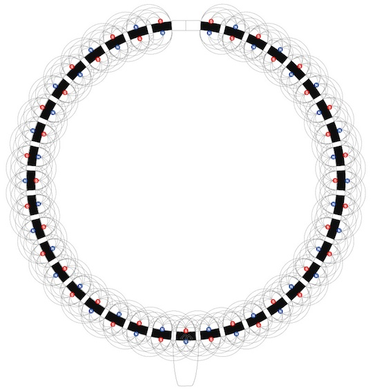 Colantotte Tao Creo Necklace