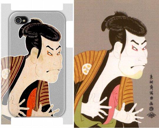 iPhone 4 Ukiyoe Sharaku Case
