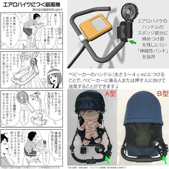 USB Wearable Cooling Fan