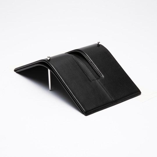 Aludo Kip Leather Tissue Holder