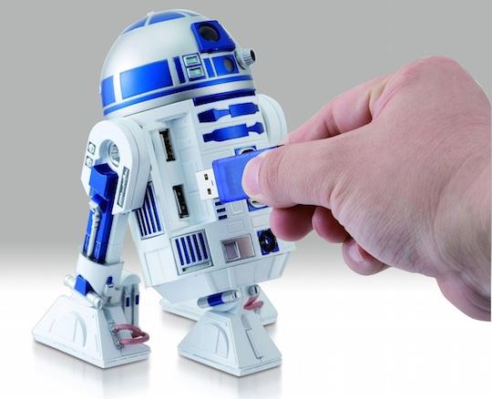 Japan Trend Shop Star Wars R2 D2 Usb Hub