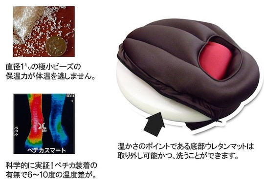 Pechika Foot Warmer Cushion