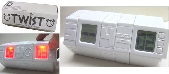 Twist Alarm Clock