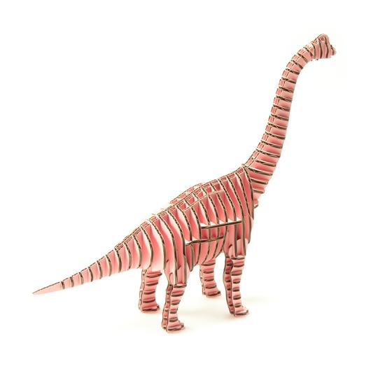 d-torso Brachiosaurus Paper Craft Model