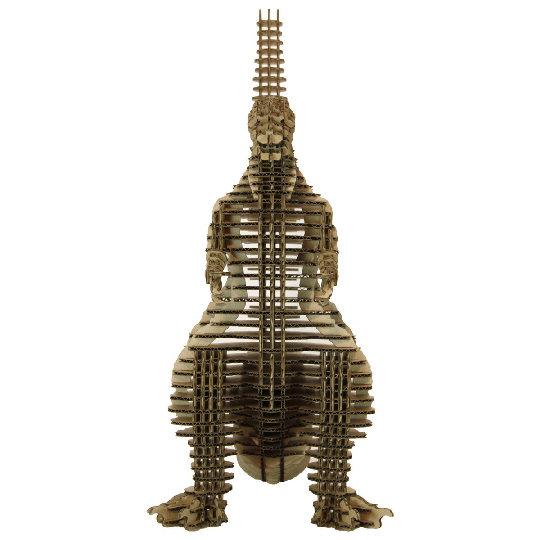 Shin Godzilla 3D Cardboard Model