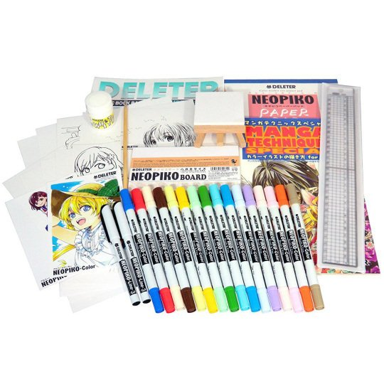 Deleter Manga Drawing Set DX