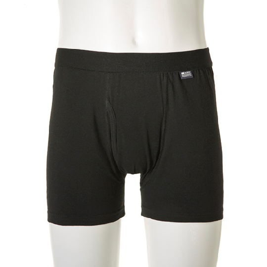 Deoest Deodorizing Boxer Briefs Black