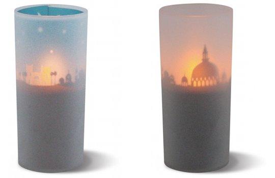 Cuore Graphio Cityscape LED Candle