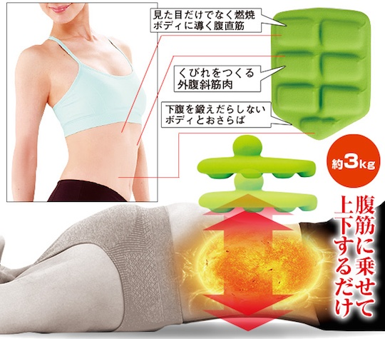 Abdominal Breathing Dumbbell Exercise Tool