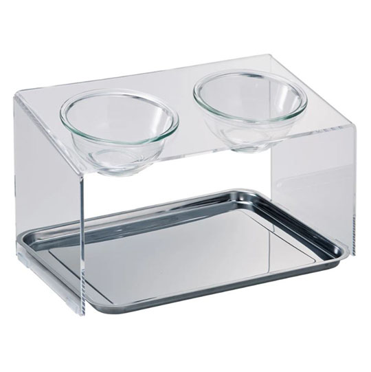 Acrylic Pet Food Table