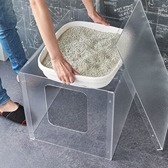 Acrylic Cat Litter Cover