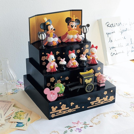 Disney Hinamatsuri Girl's Day Festival Doll Display