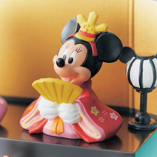 Disney Hinamatsuri Girls Day Festival Doll Display