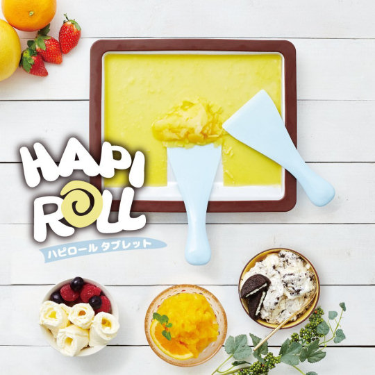 Happy Rolled Ice Cream Maker Tray