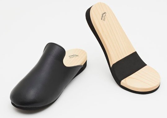 Two Piece Slipper by Drill Design