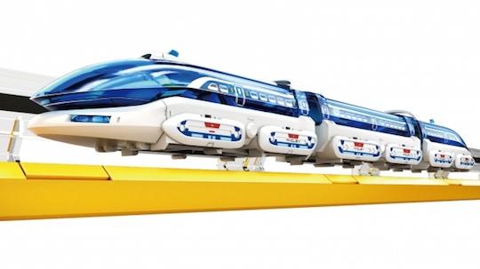 Elekit Linear Motor Toy Train Set