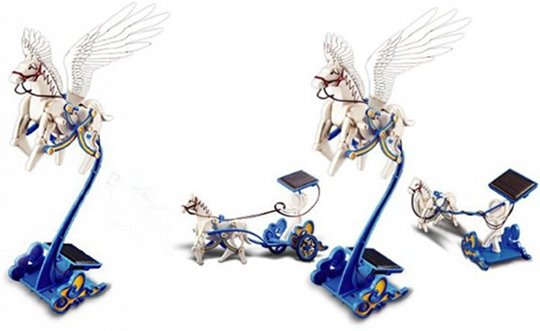 Solar Pegasus Flying Horse