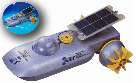 Japan Trend Shop Solar Powered Amphibious Vehicle Kit
