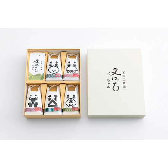 Enishi-chan Mini Japanese Rice Selection (Pack of 5)