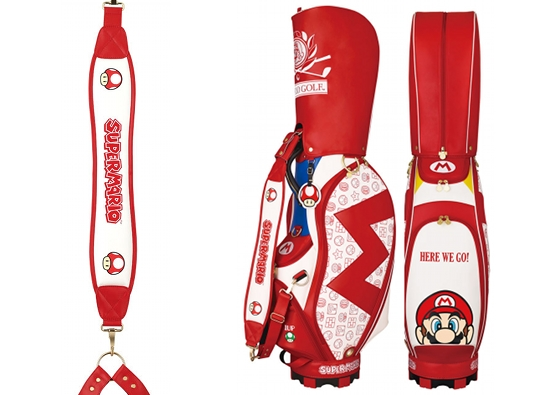 Super Mario Golf Caddy Bag