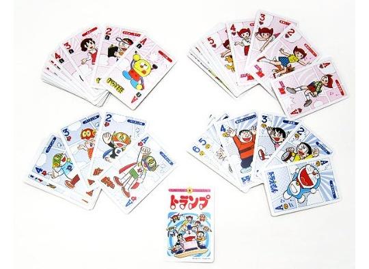 Fujiko F. Fujio Character Playing Cards