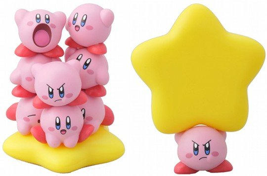 Kirby Super Star Tower Stacking Toy