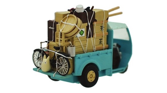 My Neighbor Totoro Pullback Toy Kusakabe Car