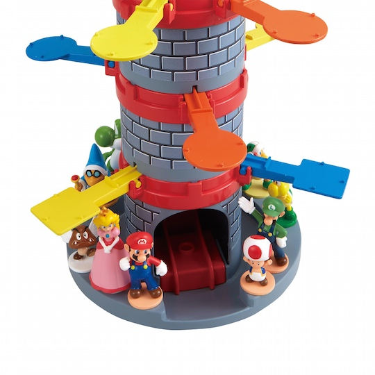 Super Mario Jump Tower Game