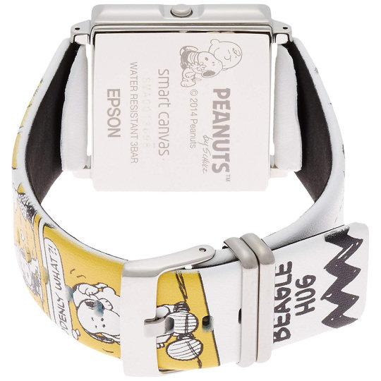 Epson Peanuts Beagle Hug Smart Canvas Watch