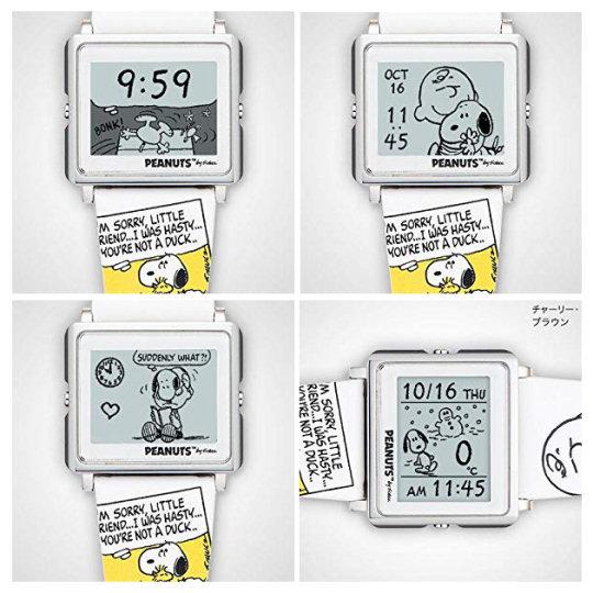 Epson Peanuts Beagle Hug Smart Canvas Watch