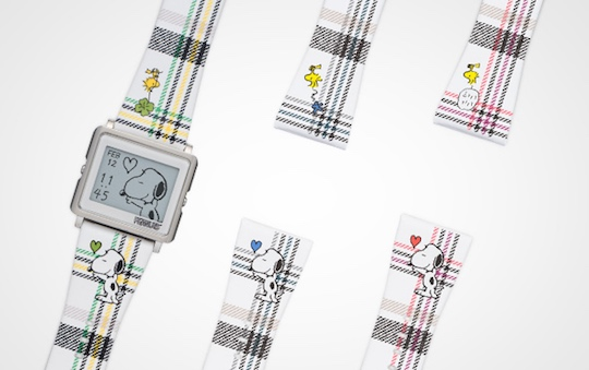 Epson Smart Canvas Watch Peanuts 65th Anniversary Model