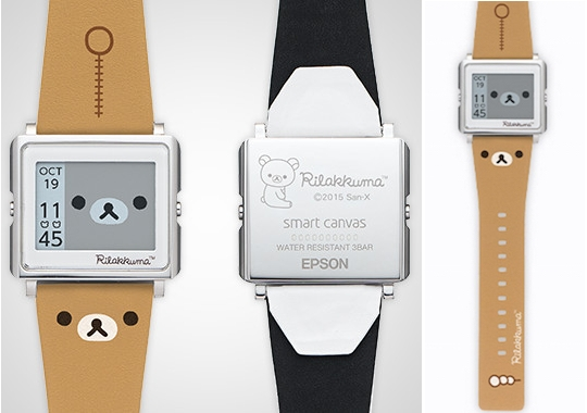 Rilakkuma Smart Canvas Watch