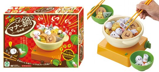 Chopstick Manner Oden Nabe Game