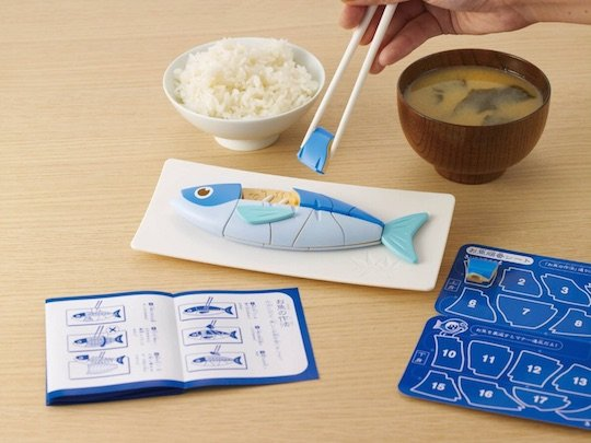Manners Fish Chopstick Training Toy