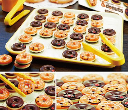 Reversi & Donuts Game