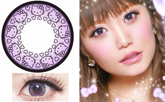 Hello Kitty Color Contact Lenses