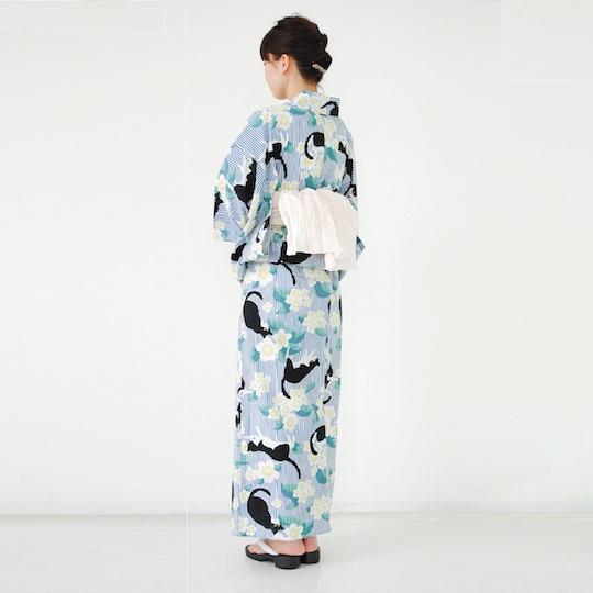 Catnip Retro Style Yukata Cat Kimono