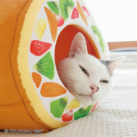 Nyanko Kitty Rollcake Tunnel for Cats