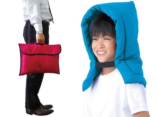 Zukin Earthquake Hood and Cushion Cover