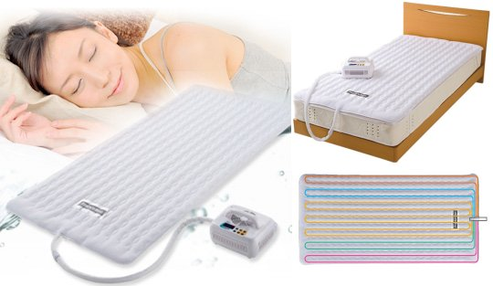 Cooling Heating Shiki Bed Pad Summer Winter Sleeping